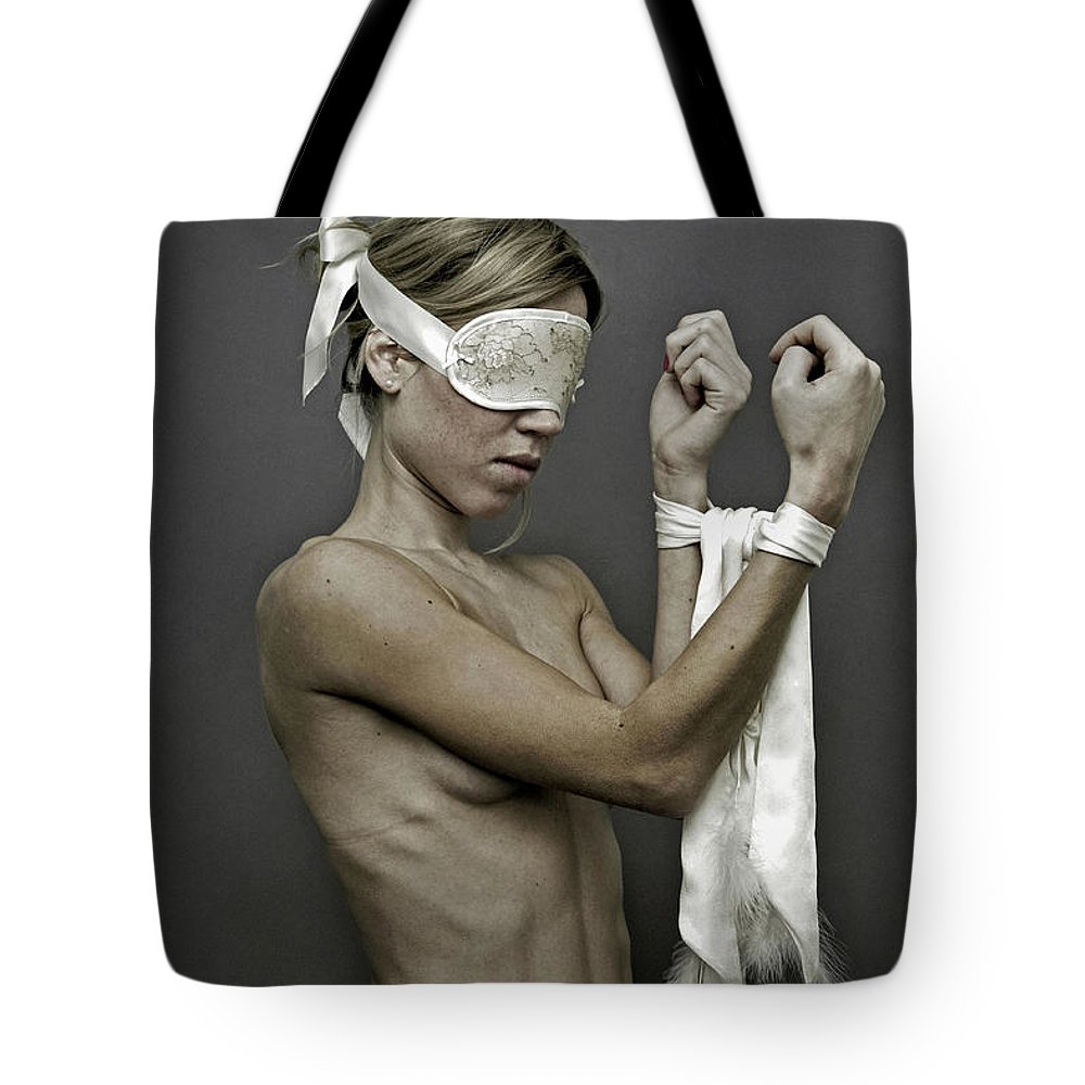 Young Tote Bag featuring the photograph Meep by Pawel Piatek