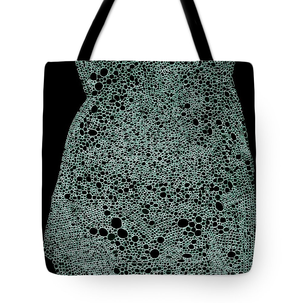 Pen And Ink Drawing Tote Bag featuring the drawing Meltdown by Nancy Kane Chapman