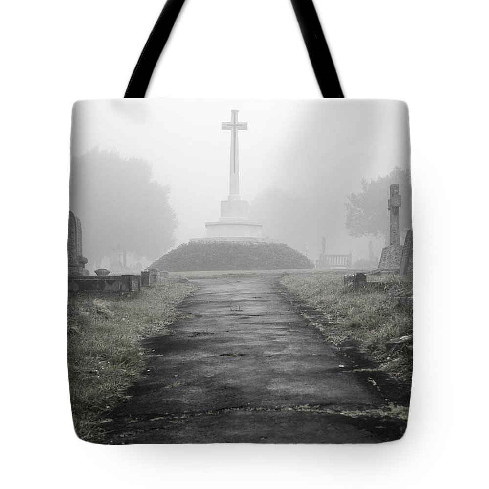 Uk Tote Bag featuring the photograph Memorial by Christopher Rees