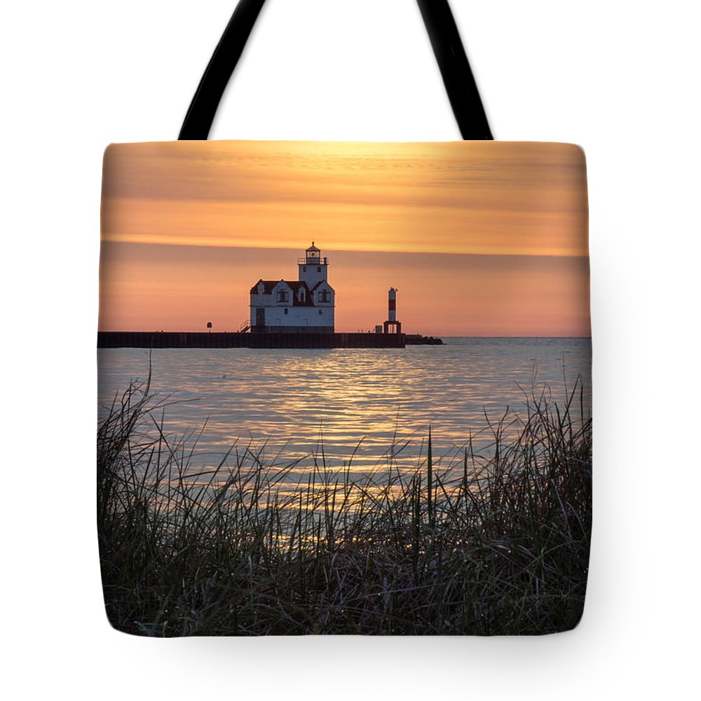 Lighthouse Tote Bag featuring the photograph Memorial Morning by Bill Pevlor
