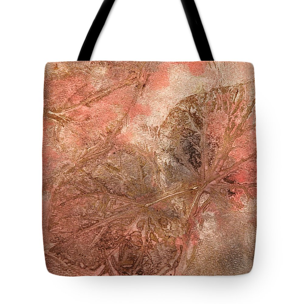 Leaves Tote Bag featuring the painting Memories Of Autumn by Maura Satchell