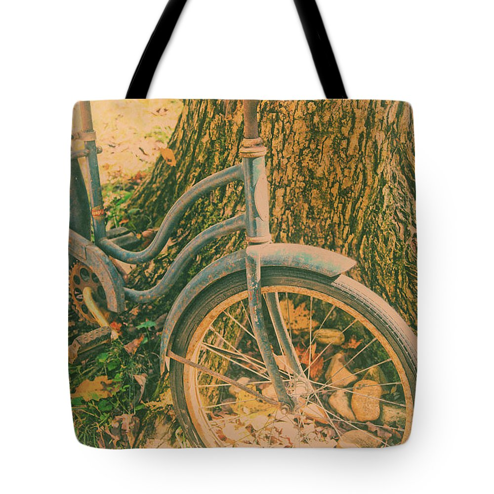 Memories Tote Bag featuring the photograph Memories Of Childhood by Karol Livote
