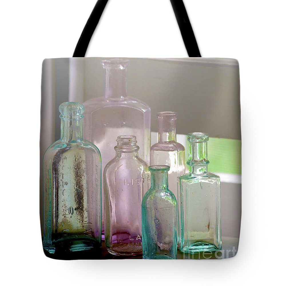 Festblues Tote Bag featuring the photograph Memories Of Forgotten Times.. by Nina Stavlund