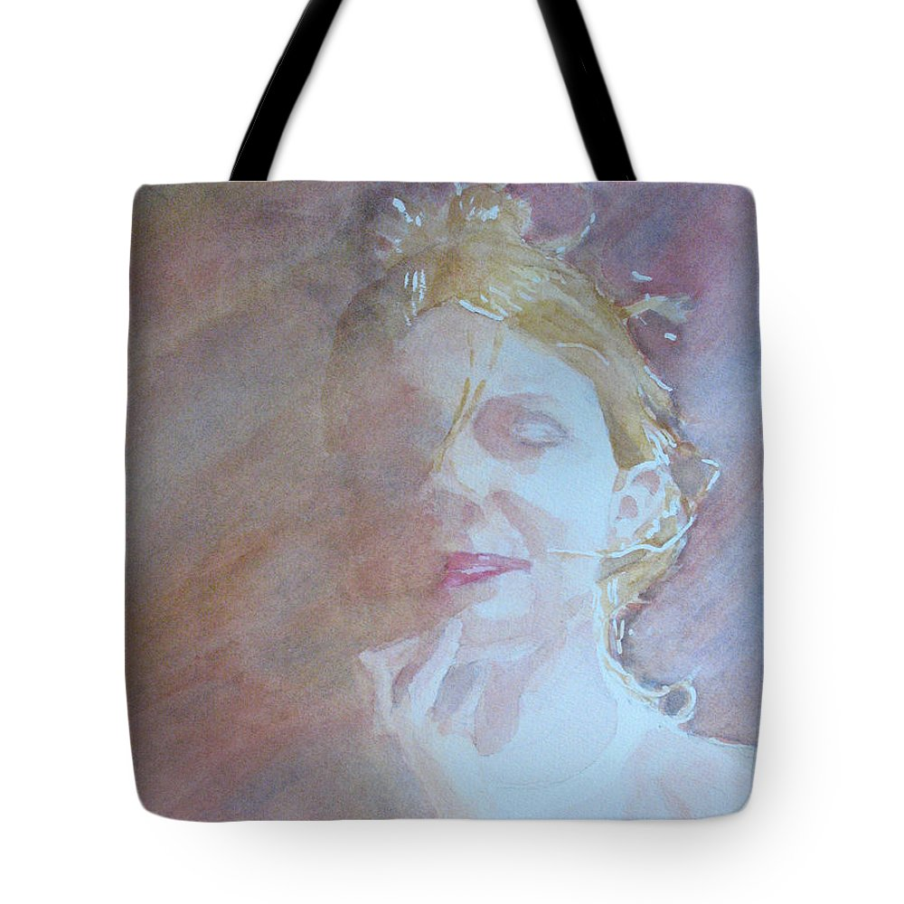 Romance Tote Bag featuring the painting Memories Of Romance by Jenny Armitage