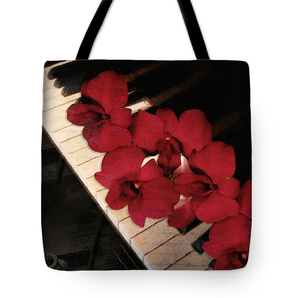 Vintage Tote Bag featuring the photograph Memories Of The Music Lovers - Vintage Style by Georgiana Romanovna