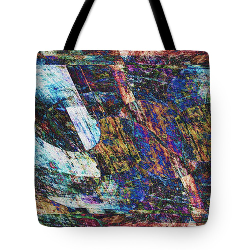 Abstract Tote Bag featuring the photograph Memories by Stephanie Grant