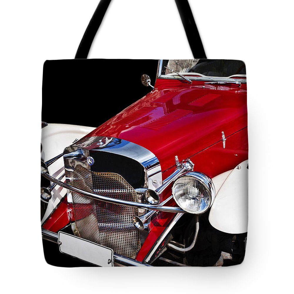 Heiko Tote Bag featuring the photograph Mercedes Benz by Heiko Koehrer-Wagner