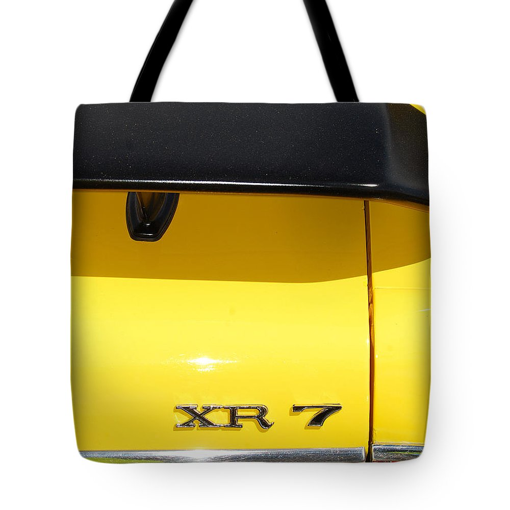 American Muscle Car Tote Bag featuring the photograph Mercury Xr 7 by Mark Spearman