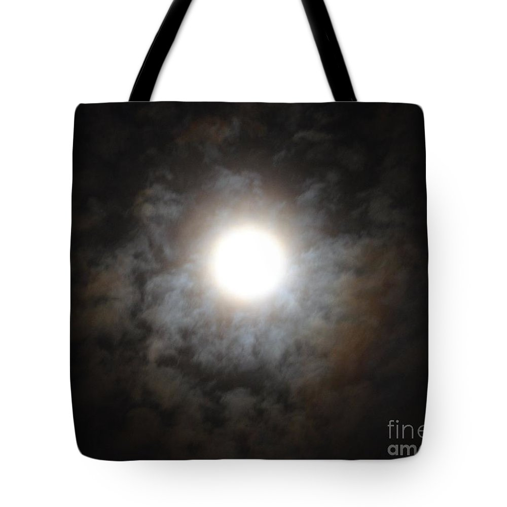Mesmerizing Moonlight Tote Bag featuring the photograph Mesmerizing Moonlight by Maria Urso