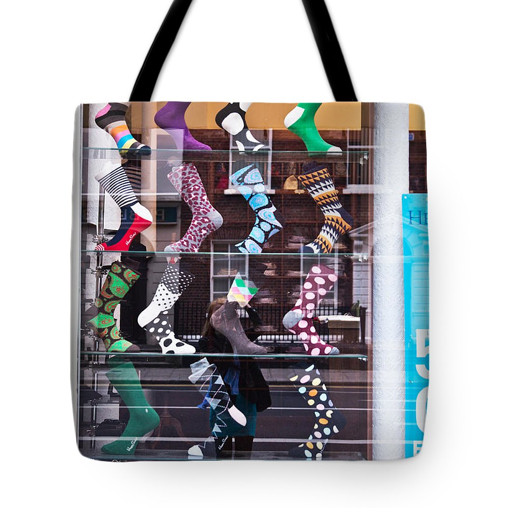 Reflection Tote Bag featuring the photograph Message 3 by Alex Art and Photo