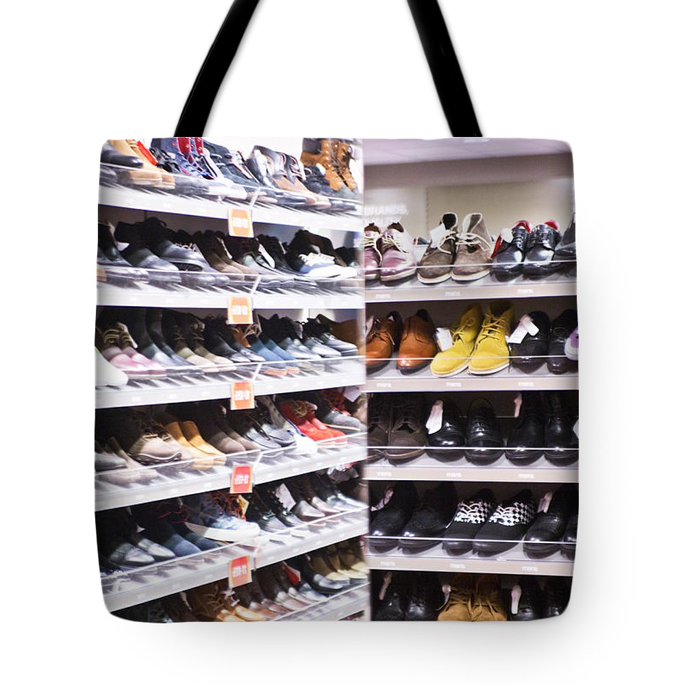 Shoes Tote Bag featuring the photograph Message 4 by Alex Art and Photo