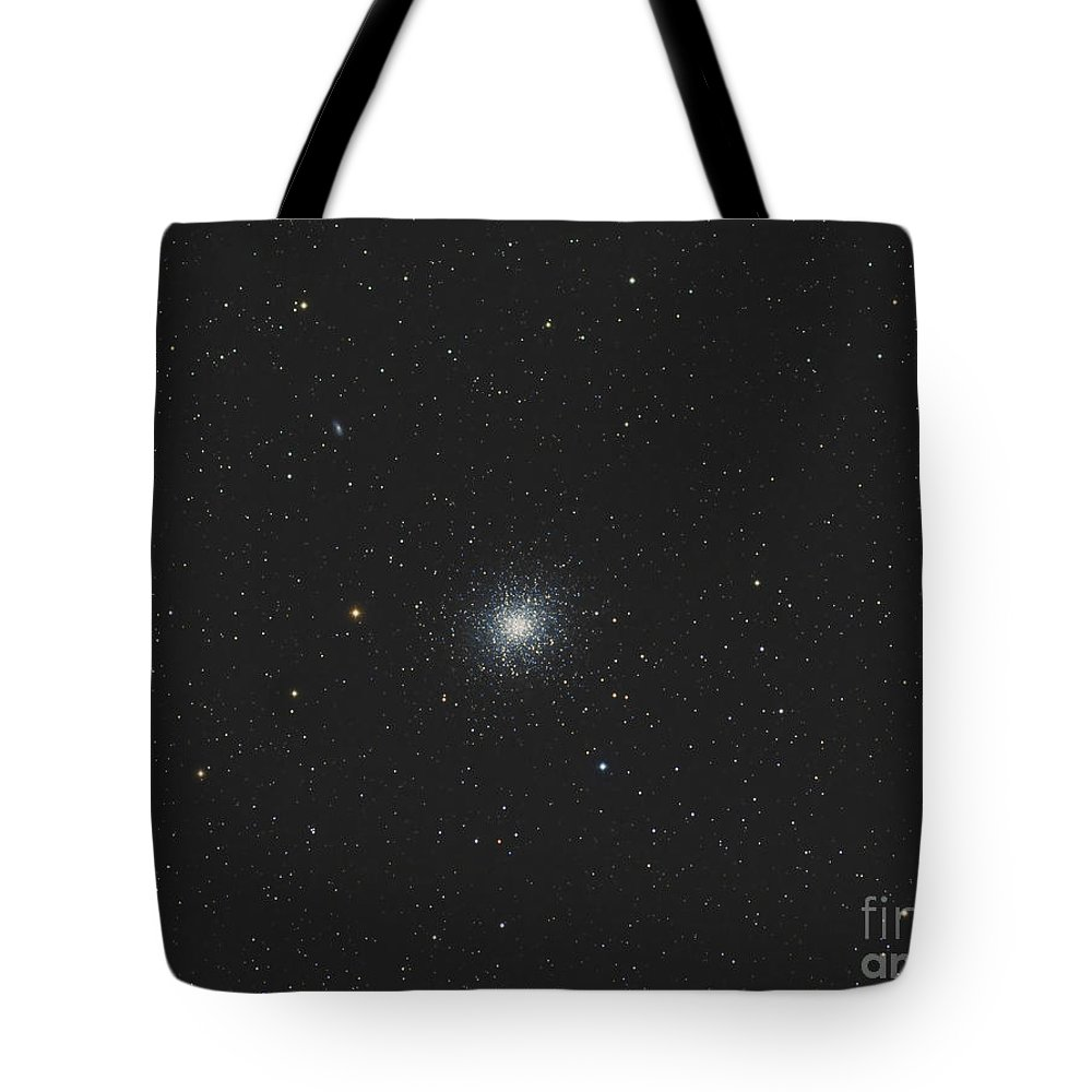 Black Tote Bag featuring the photograph Messier 13, The Great Globular Cluster by Reinhold Wittich