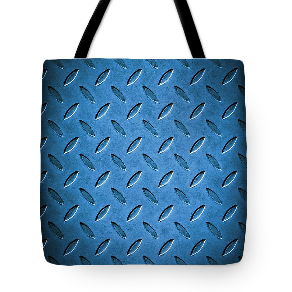 Abstract Tote Bag featuring the photograph Metal Background by Carlos Caetano