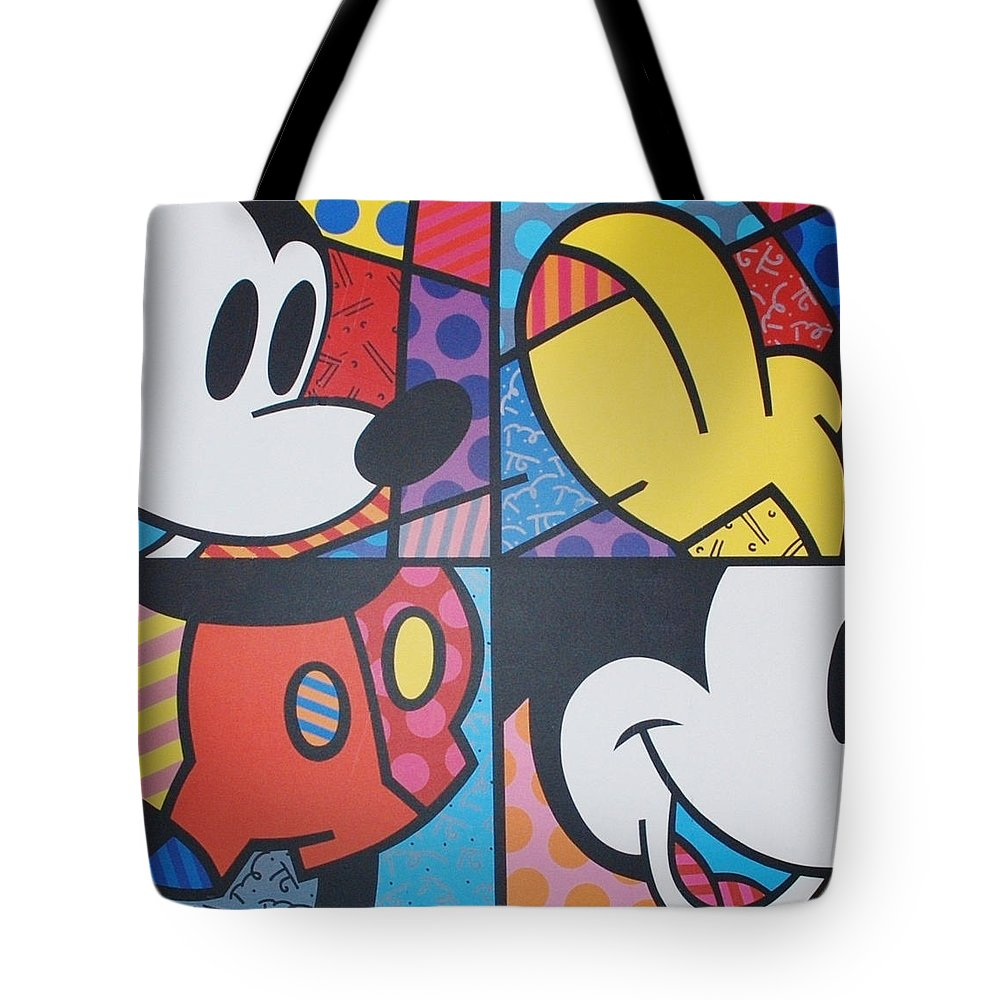 Mickey Mouse Tote Bag featuring the photograph Mickey by Rob Hans