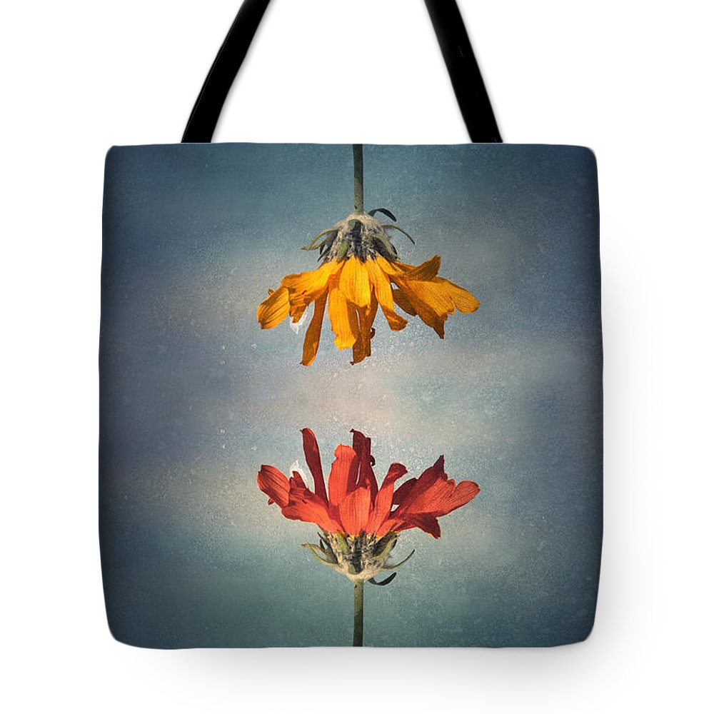 Middle Ground Tote Bag featuring the photograph Middle Ground by Tara Turner