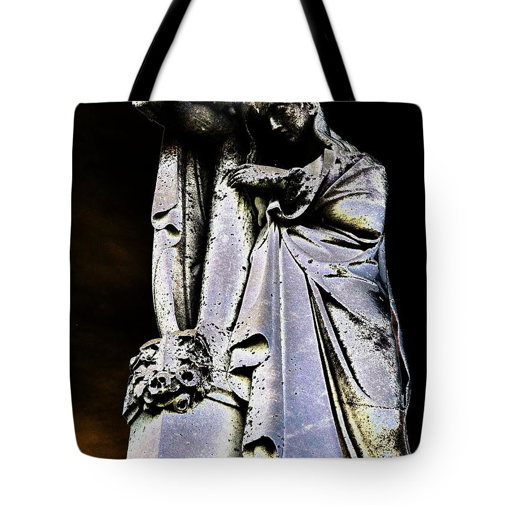 Cross Tote Bag featuring the photograph Midnight Glory by Lisa Brandel