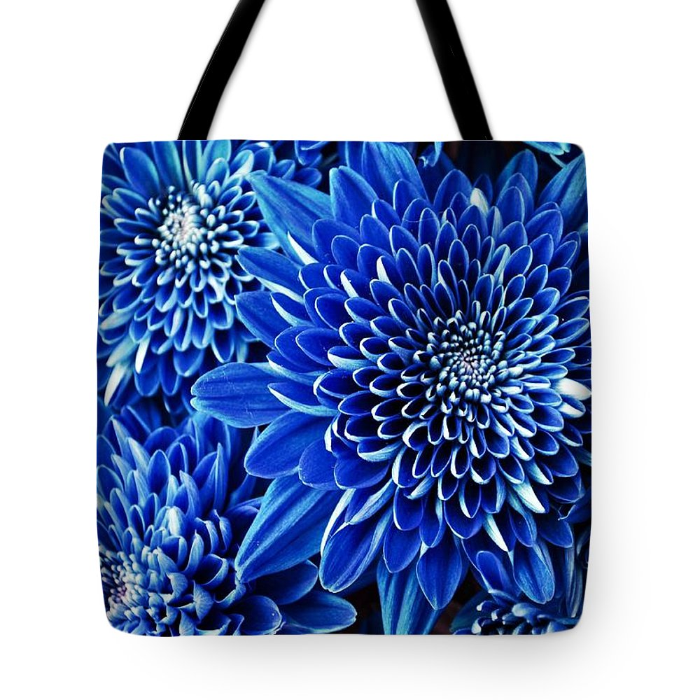 Mums Tote Bag featuring the photograph Midnight Magic by Debra Miller