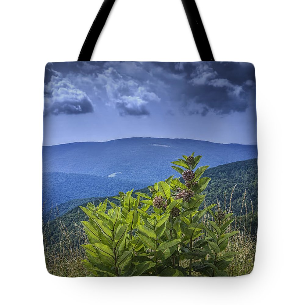 Art Tote Bag featuring the photograph Milkweed Plants Along The Blue Ridge Parkway by Randall Nyhof