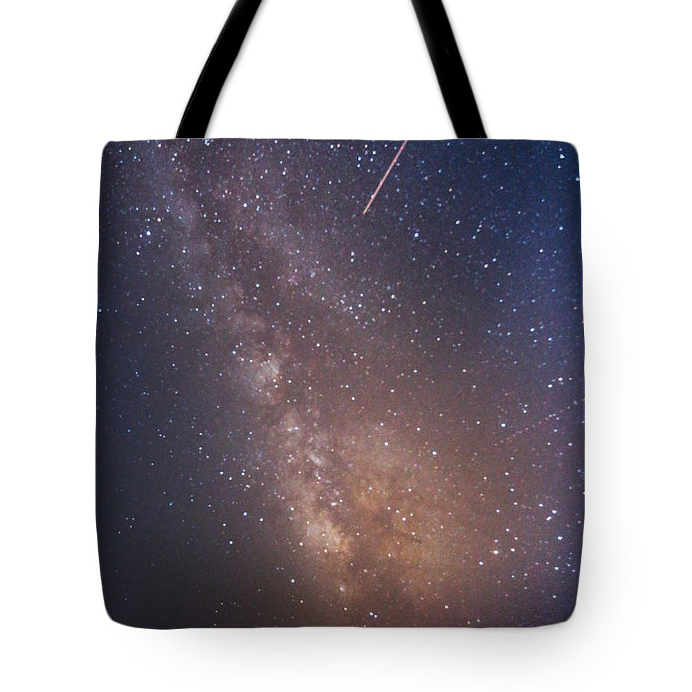 Majestic Tote Bag featuring the photograph Milky Way by Luca Libralato Photography