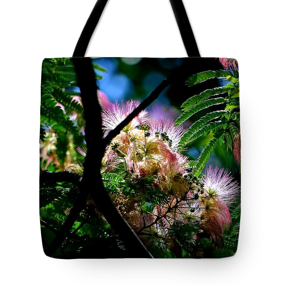 Mimosa Tote Bag featuring the photograph Mimosa by Deena Stoddard