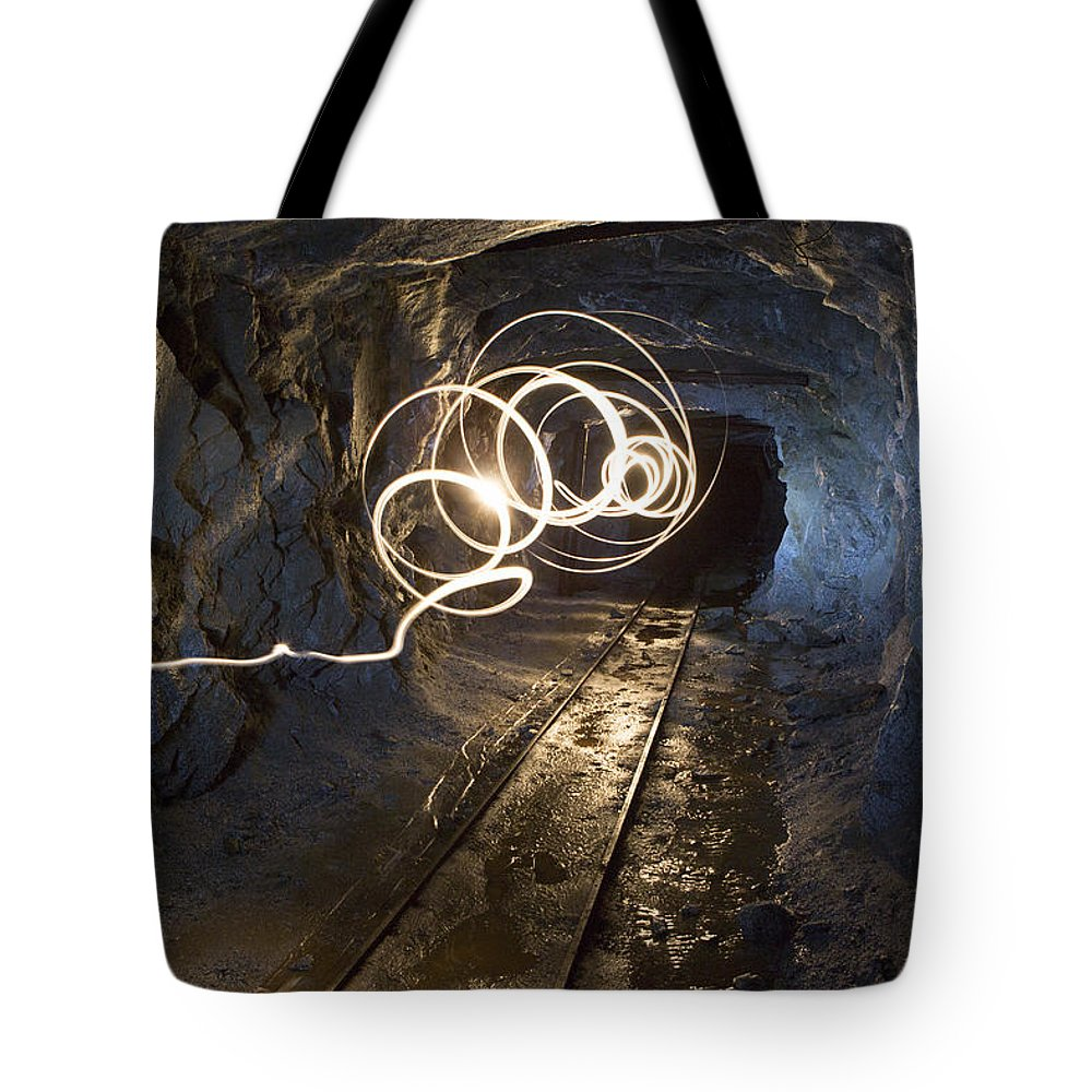 Mine Tote Bag featuring the photograph Mine by Charlie Duncan