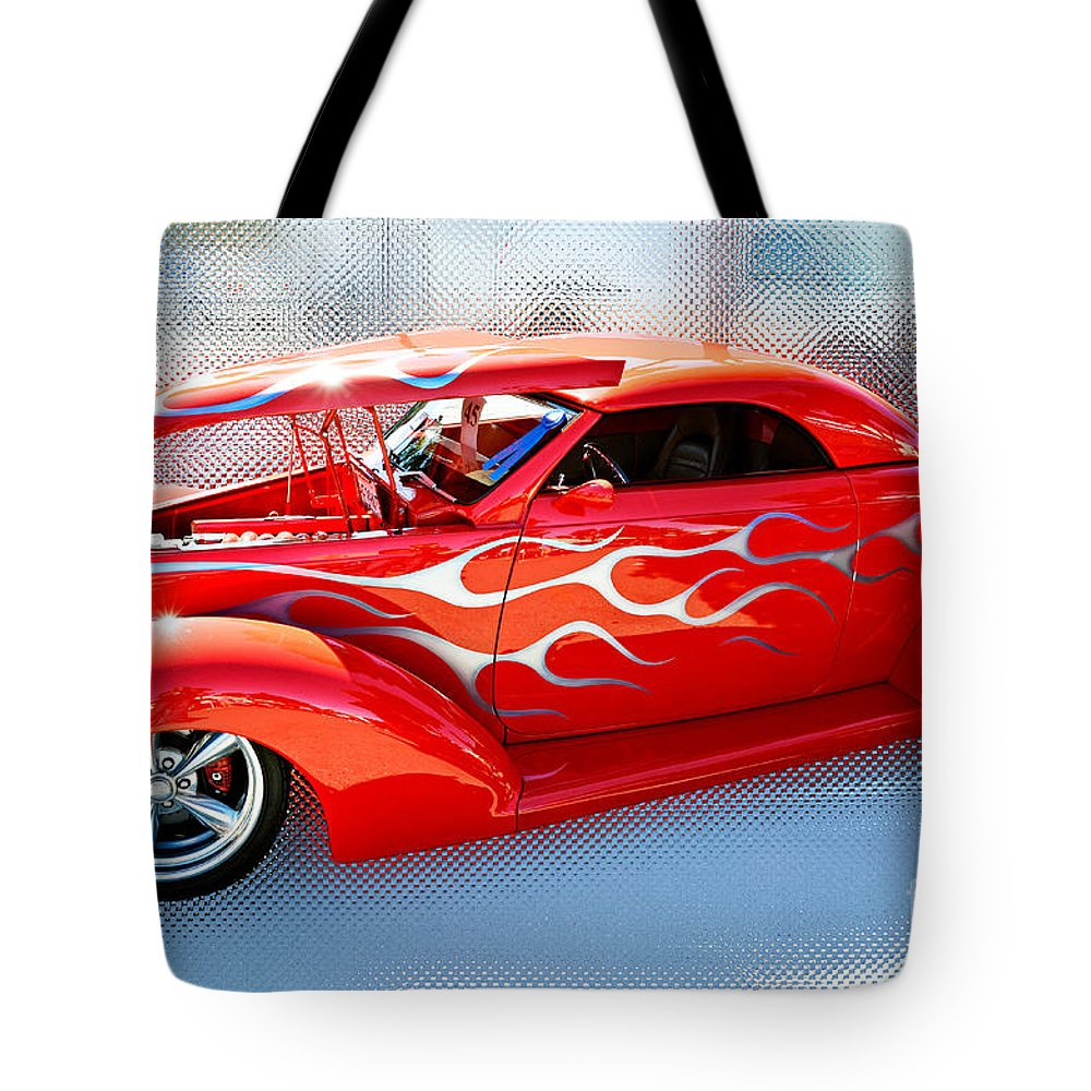 David Lawson Photography Tote Bag featuring the photograph Mirrored Image by David Lawson