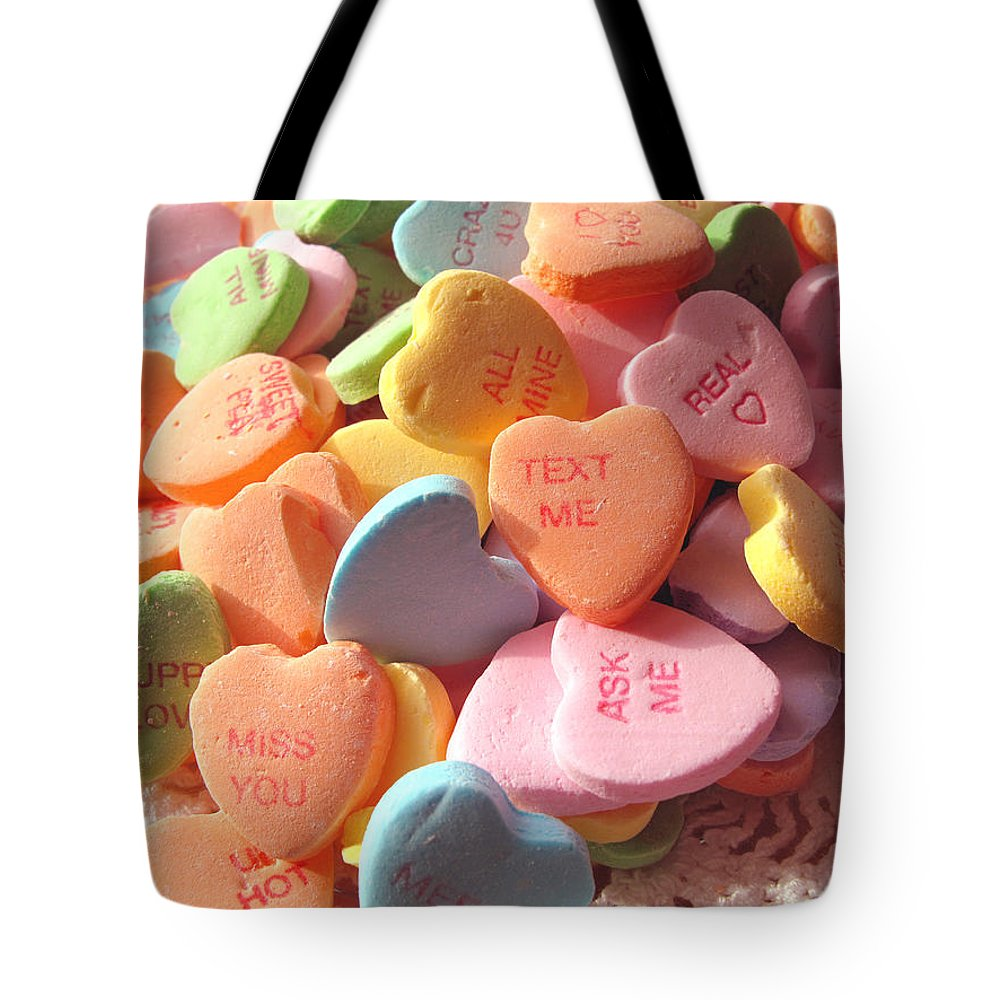 Valentine Tote Bag featuring the photograph Miss You by Barbara McDevitt