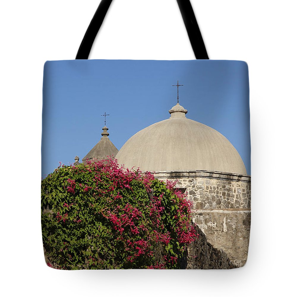 Mission Tote Bag featuring the photograph Mission San Jose 1 by Susan Rovira