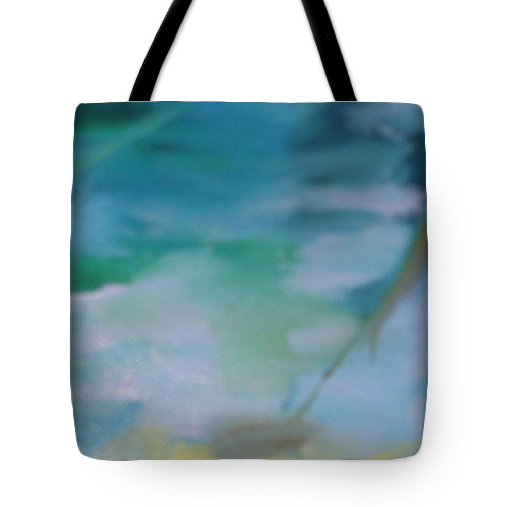 Abstract Tote Bag featuring the painting Mist by Lord Frederick Lyle Morris - Disabled Veteran