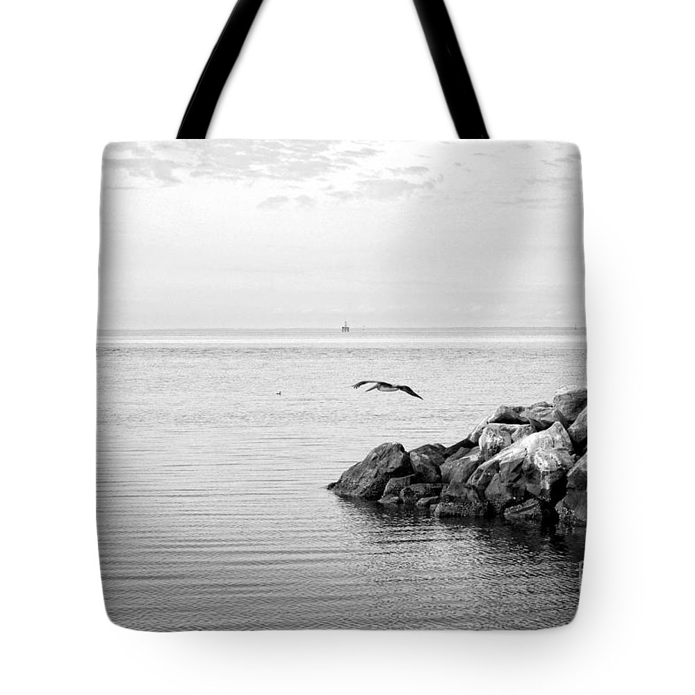 Seascape Tote Bag featuring the photograph Mobile Bay 10 by Earl Johnson