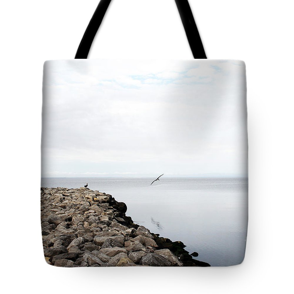 Landscape Tote Bag featuring the photograph Mobile Bay 7 by Earl Johnson