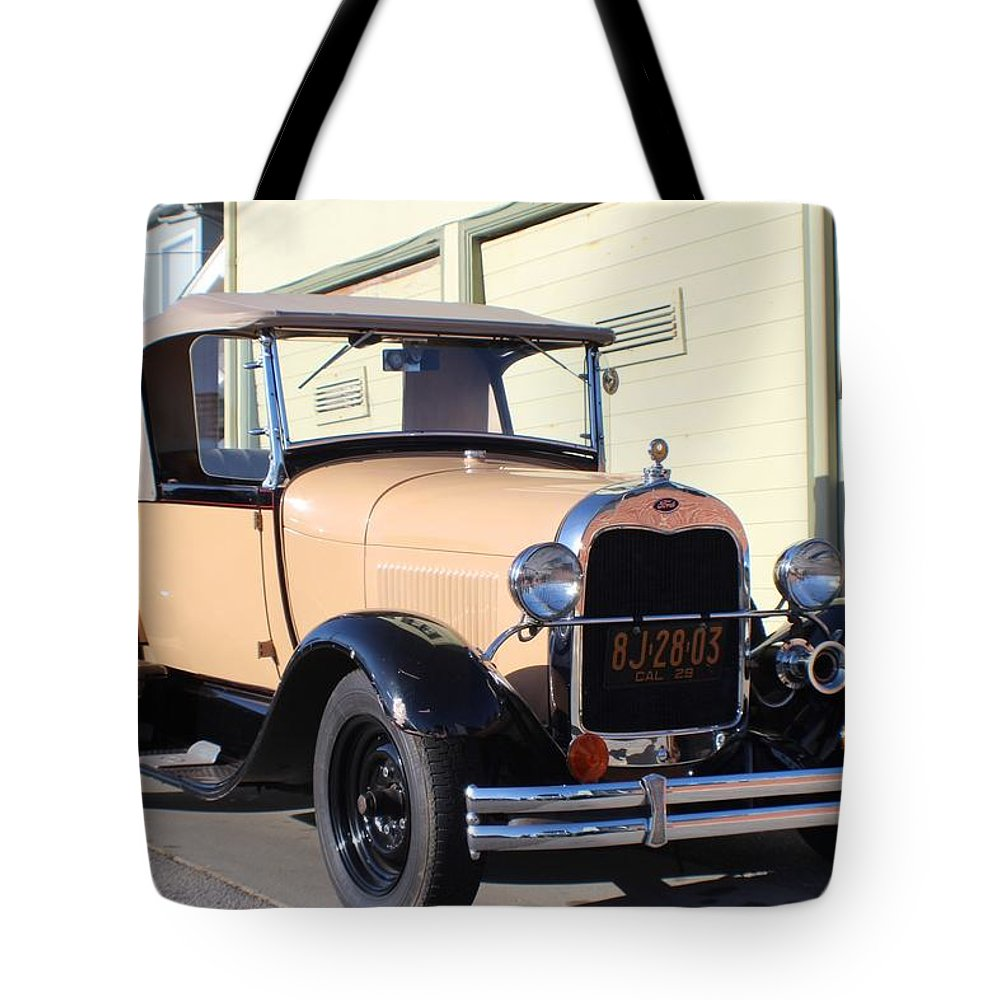 Model A Ford Truck Tote Bag featuring the photograph Model A Ford Truck by Robert Phelan