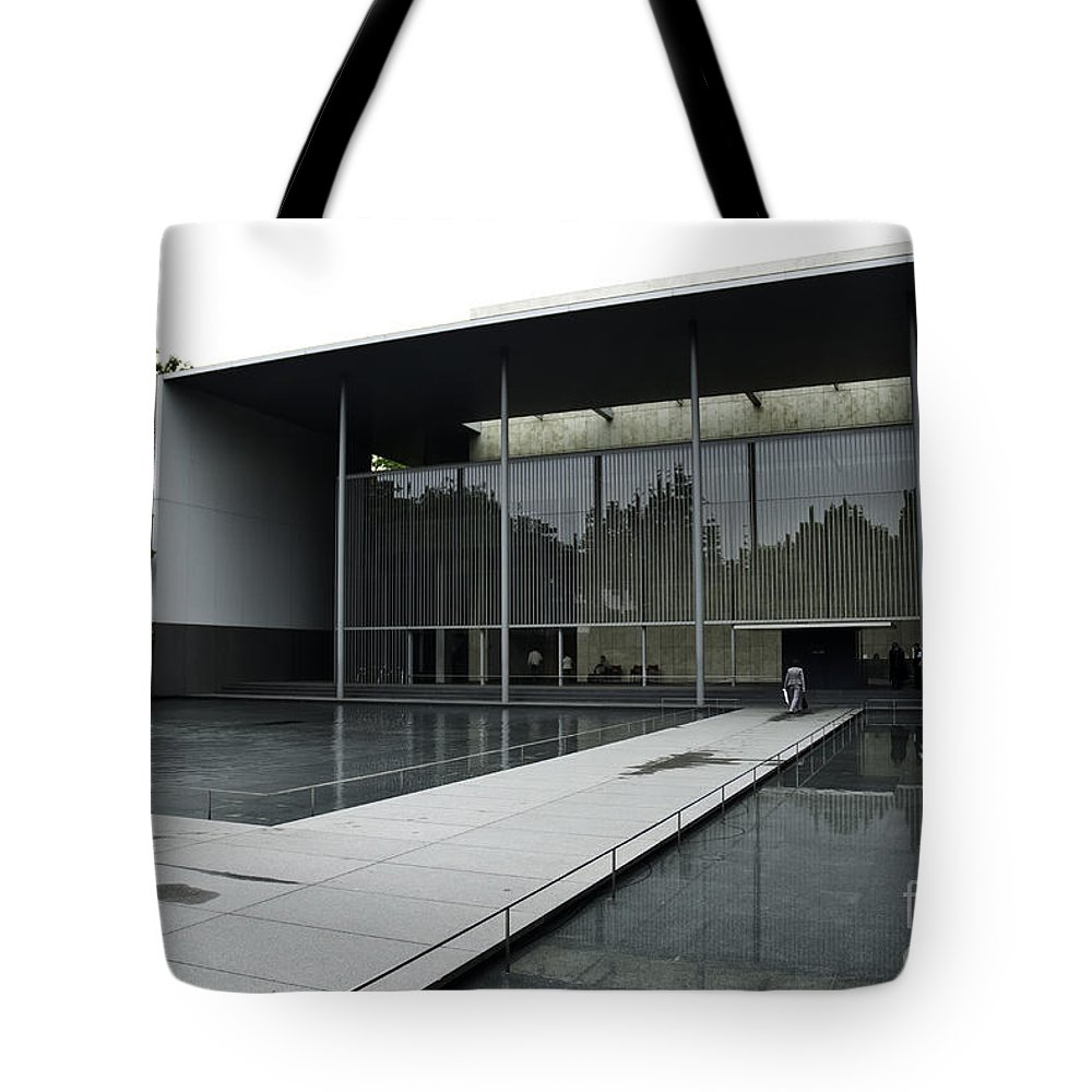 Modern Architecture Art Museum Tokyo Japan Asia Tote Bag