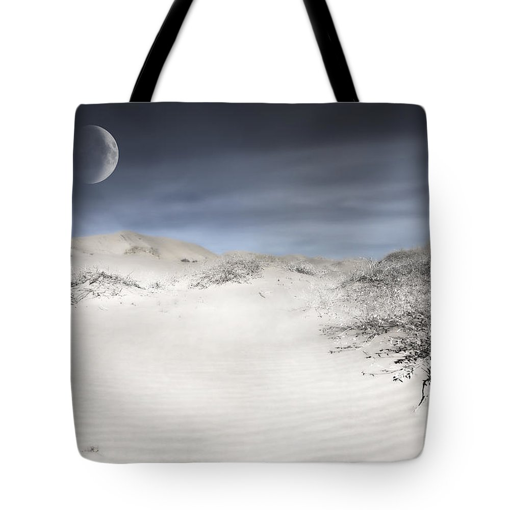 Evie Tote Bag featuring the photograph Mojave In Pale by Evie Carrier