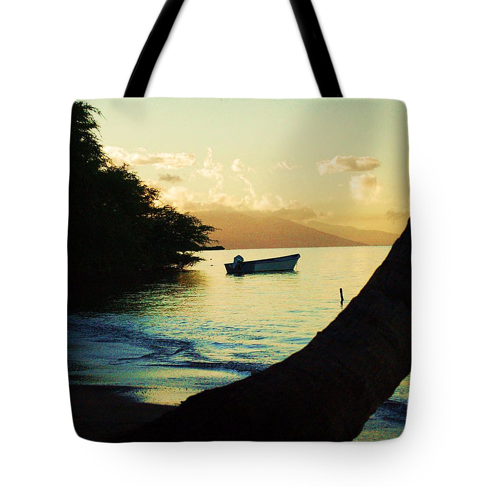 Molokai Tote Bag featuring the photograph Molokai Beach by Terry Holliday