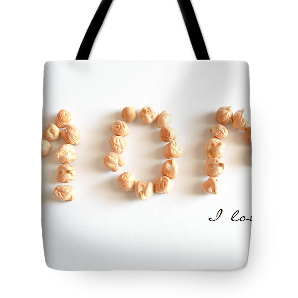 Uncooked Tote Bag featuring the photograph Mom I Love You by Andrea Anderegg