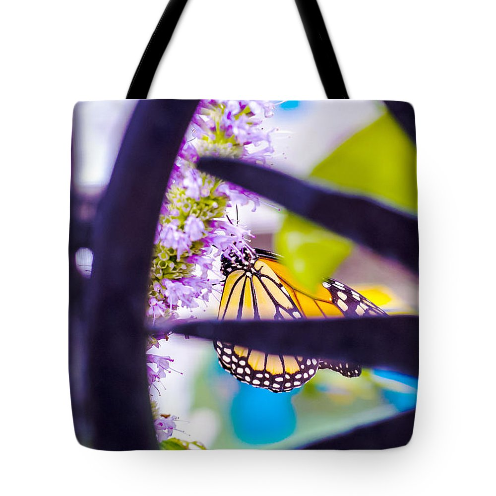 Nj Tote Bag featuring the photograph Monarch IIi by Pablo Rosales