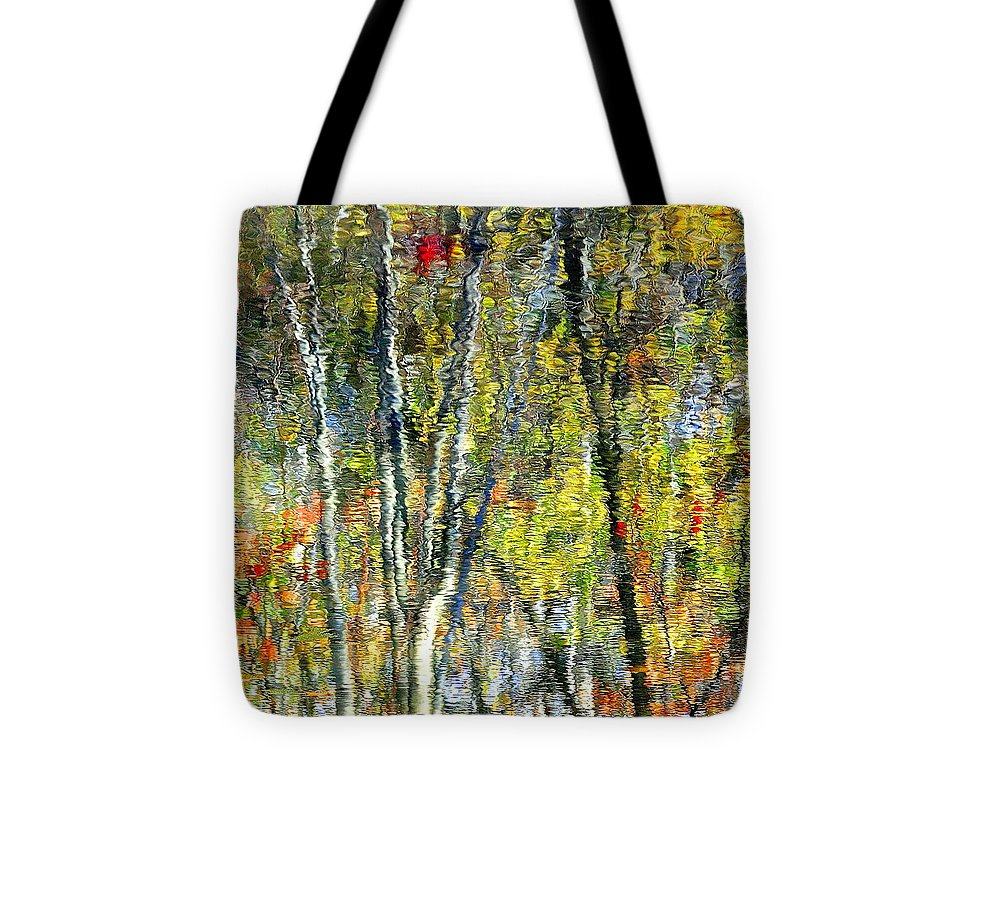Landscape Tote Bag featuring the photograph Monet Lives On by Frozen in Time Fine Art Photography