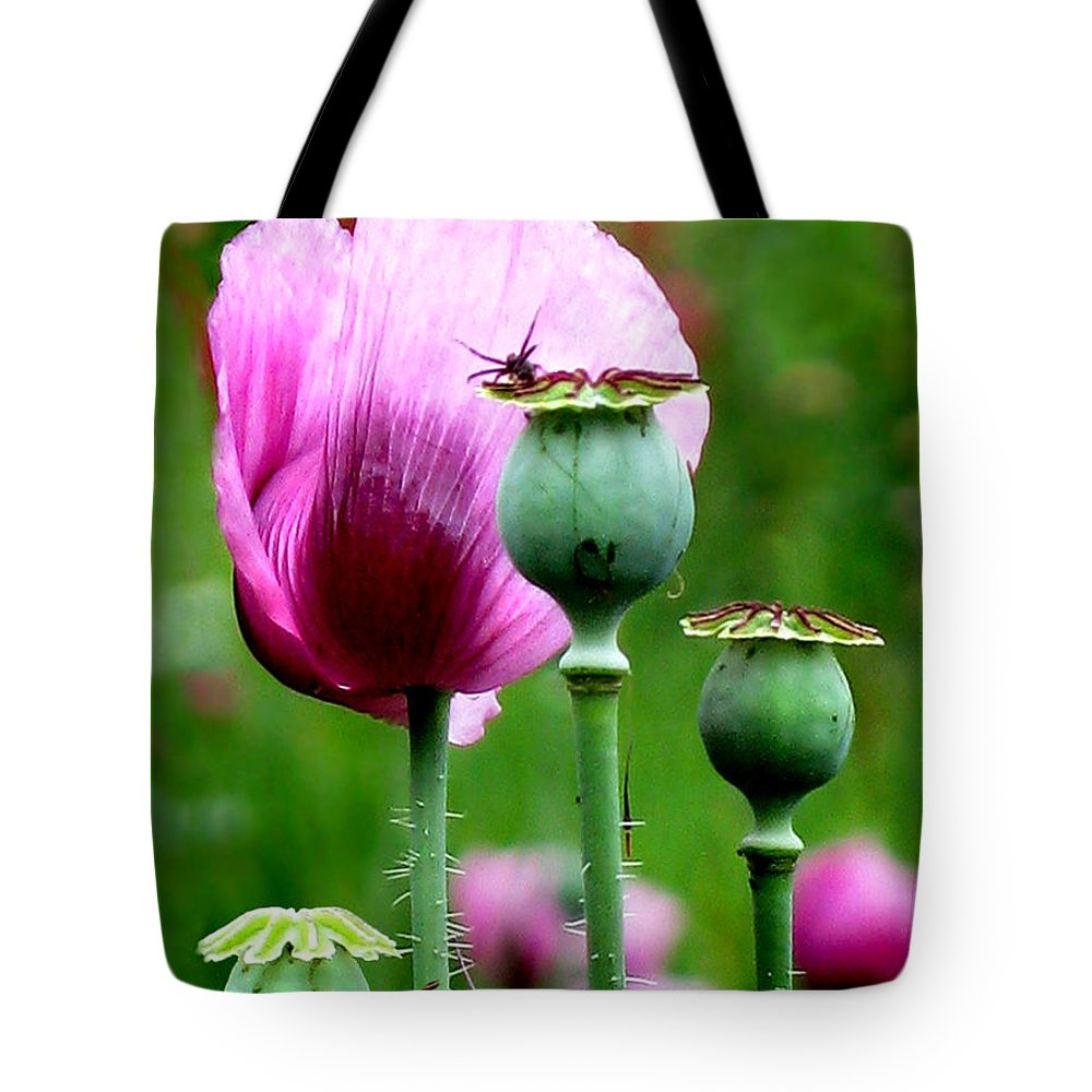 Flower Tote Bag featuring the photograph Monet's Garden-giverny by Jennie Breeze