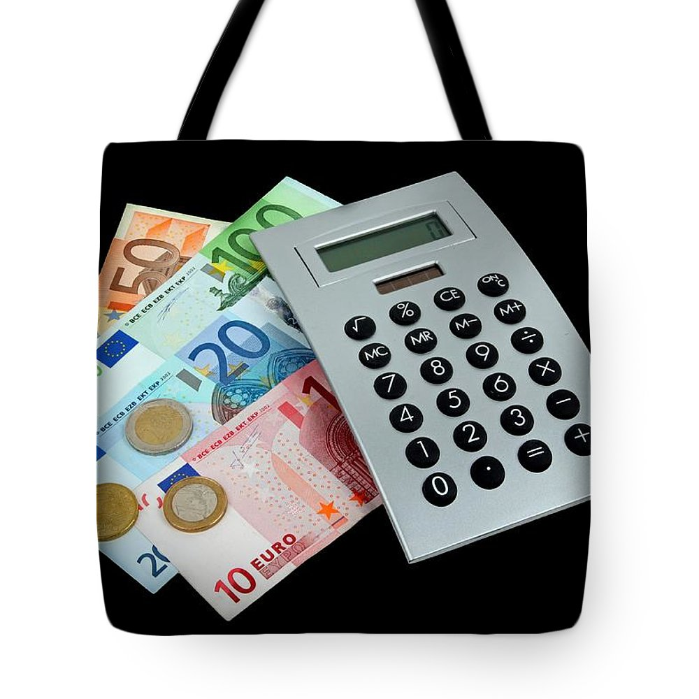 Money Tote Bag featuring the photograph Money by Manfred Lutzius
