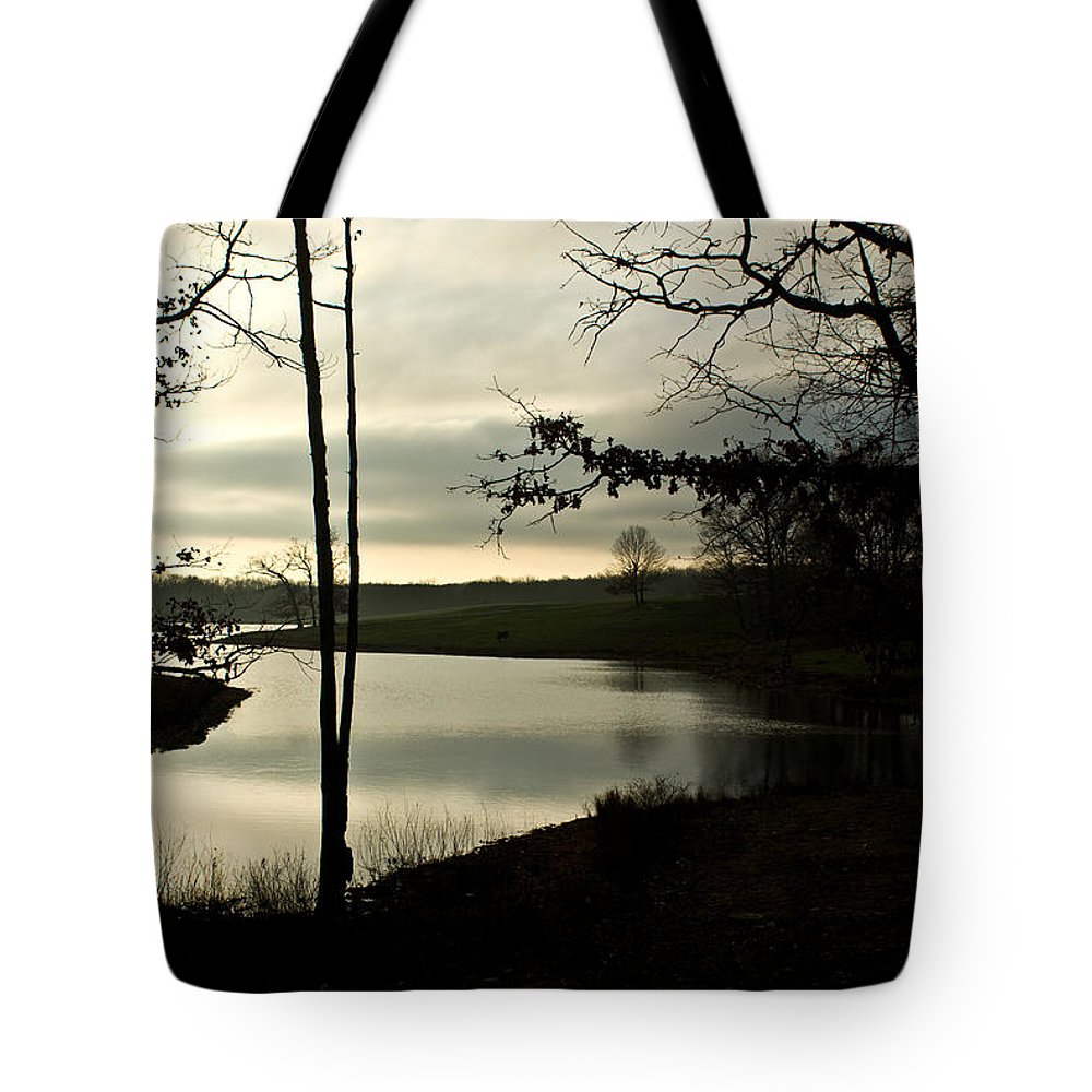 Monterey Tote Bag featuring the photograph Monterey Silver Lake by Douglas Barnett