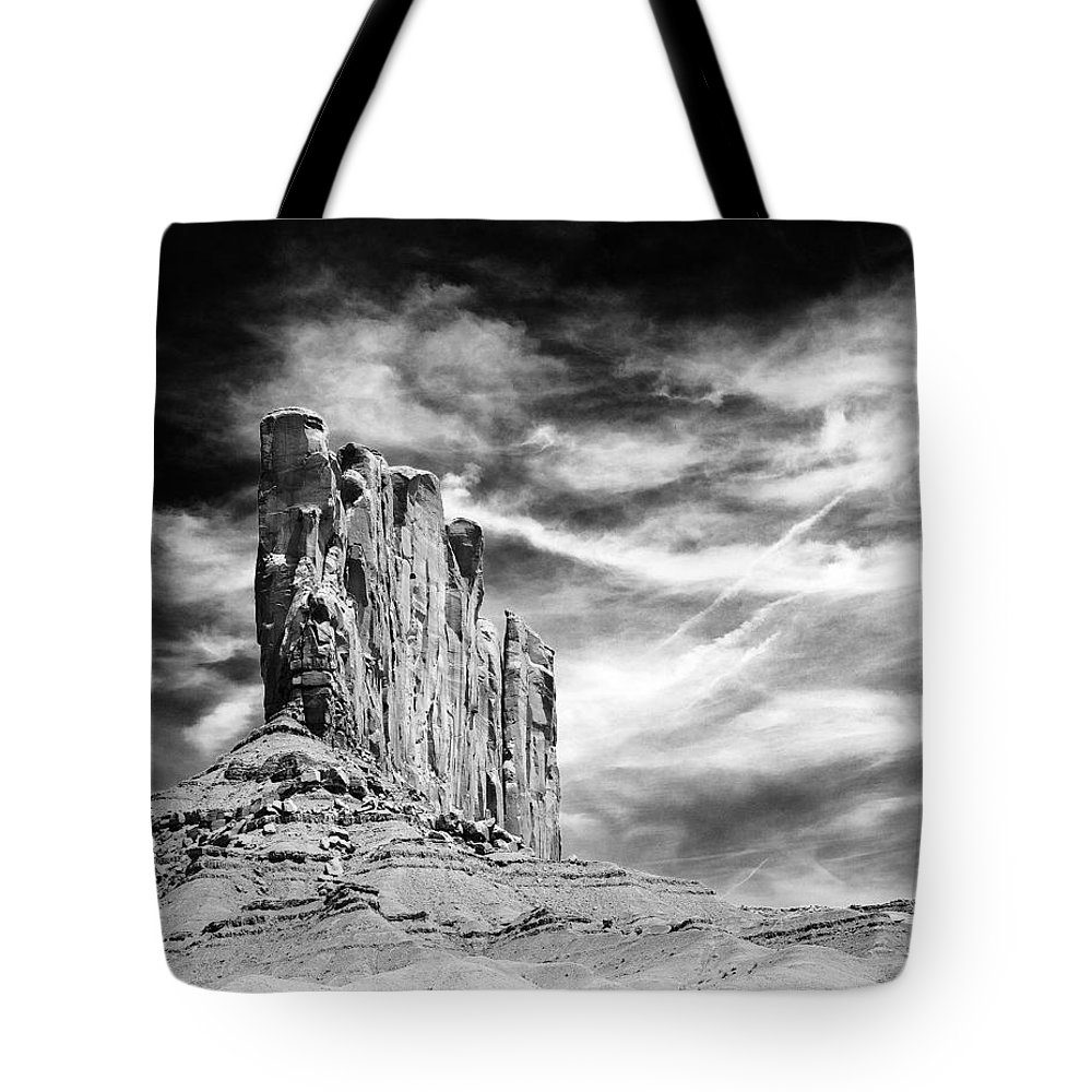 Monument Valley Tote Bag featuring the photograph Monument Valley by Ingrid Smith-Johnsen