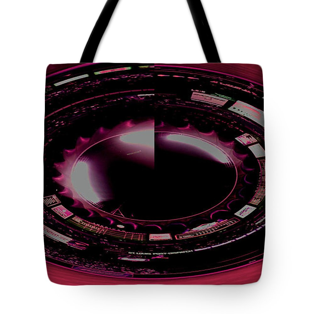 Tote Bag featuring the photograph Moon In The Arches In Polar Transformation by Kelly Awad