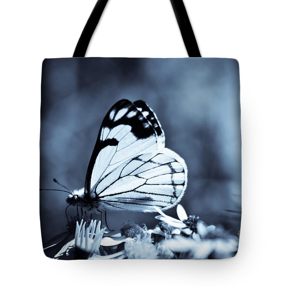 Adria Trail Tote Bag featuring the photograph Moonlit Daydream by Adria Trail