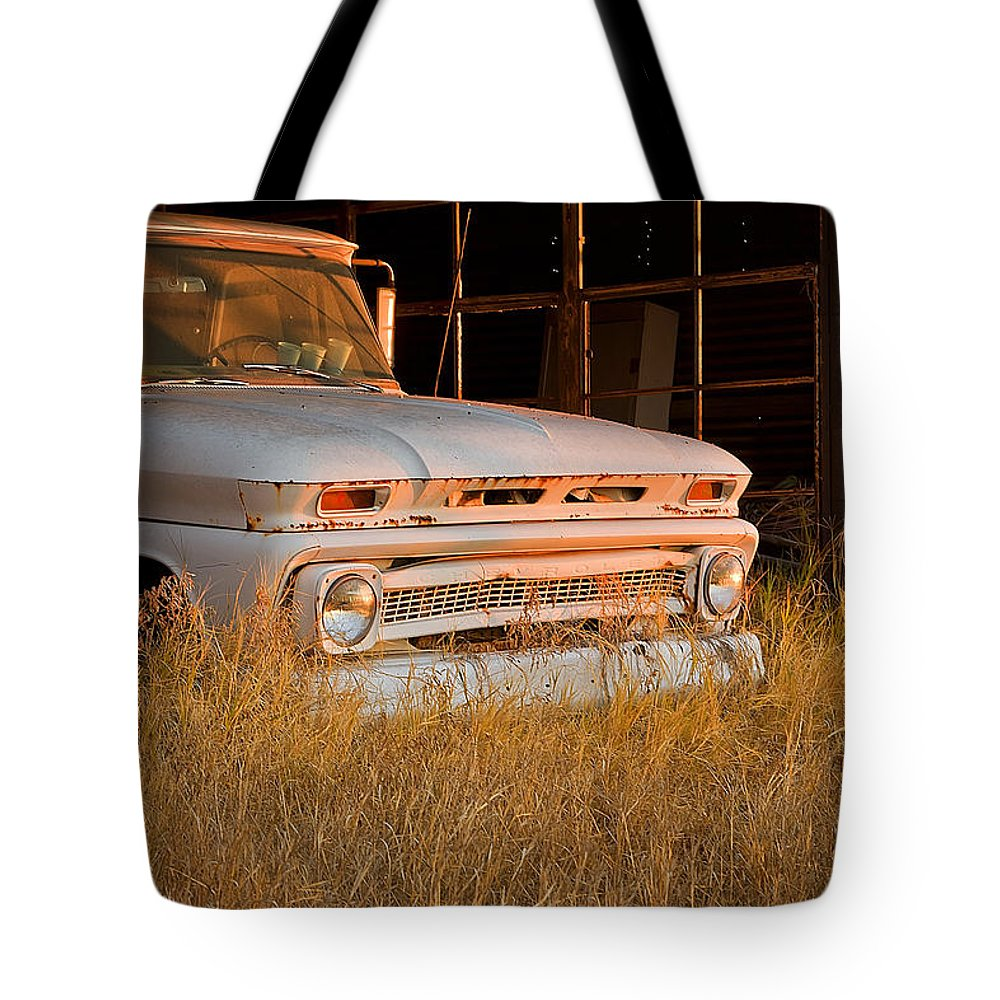 Truck Tote Bag featuring the photograph Mornin Sunshine by Mark McKinney