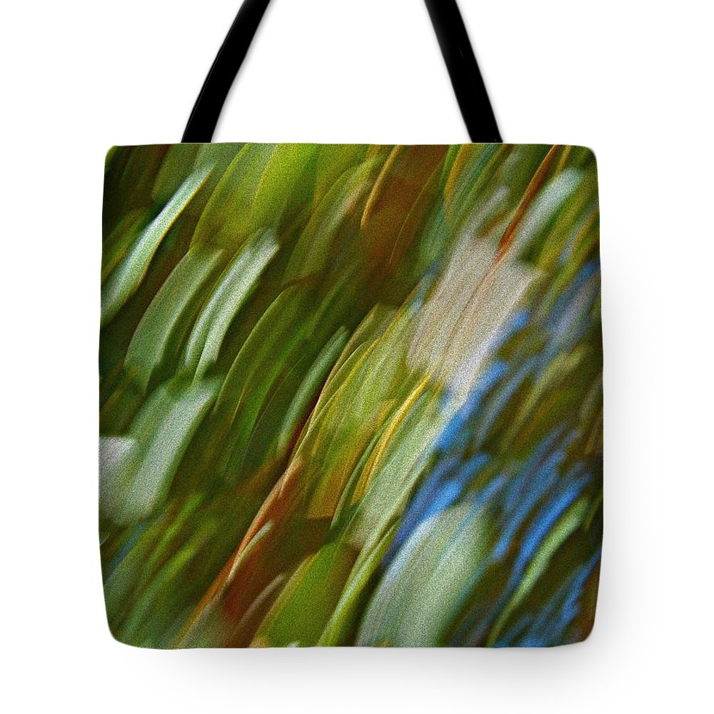 Tote Bag featuring the photograph Morning After by Clare Bevan