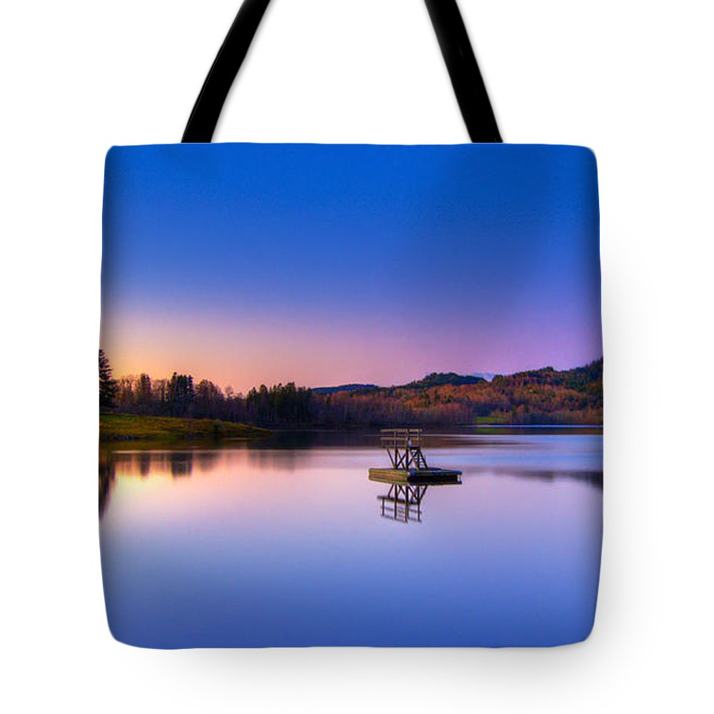 Morning Glory Tote Bags