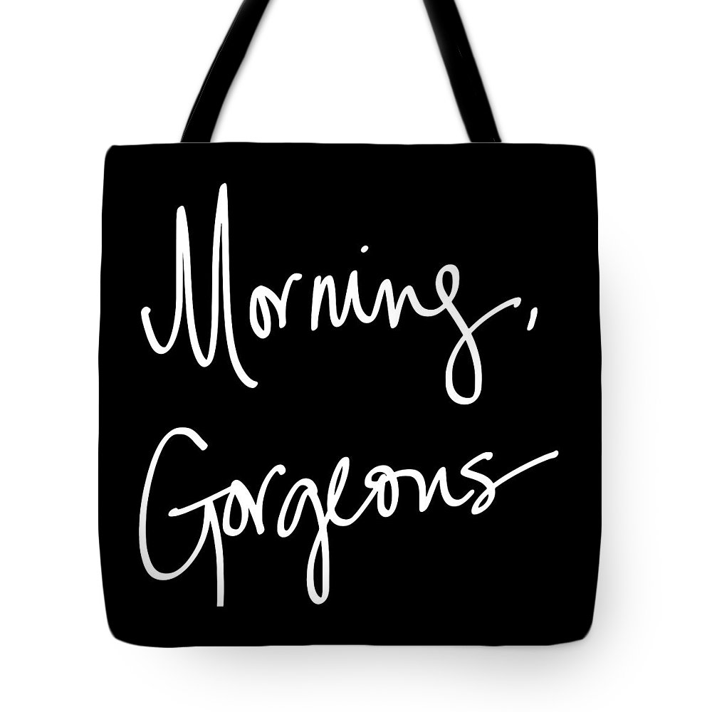 Morning Tote Bag featuring the digital art Morning Gorgeous by South Social Studio