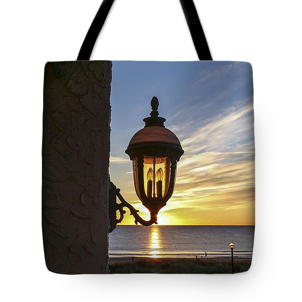 Ocean Grove Nj Tote Bag featuring the photograph Morning Light by Eric Swan