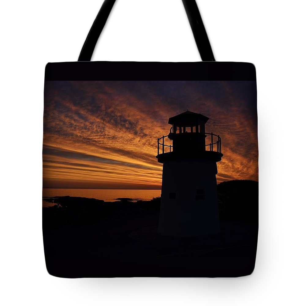 Morning Light Tote Bag featuring the photograph Morning Light by Joy Bradley